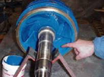 Roughen Surface for Pump Repair